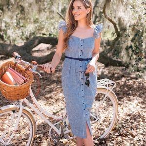 GMG Carly Gingham Dress